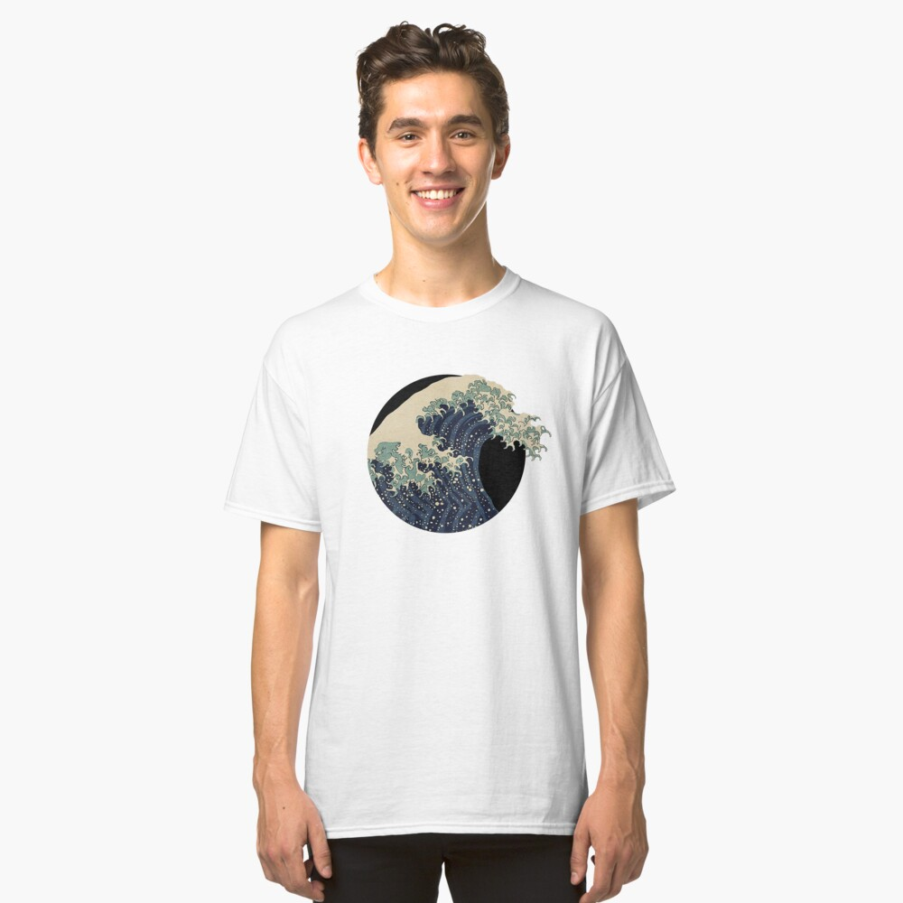 Die große Welle Classic T-Shirt