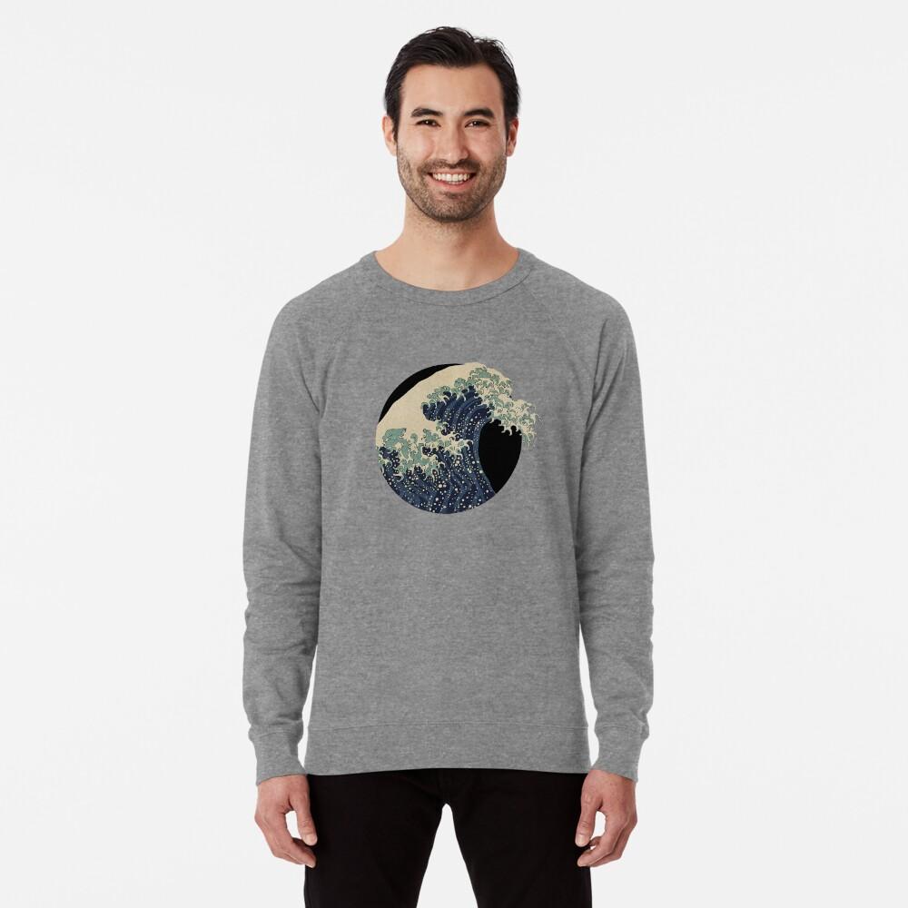 Die große Welle Leichter Pullover