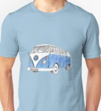 VW Van Split Screen 1966 T-Shirt