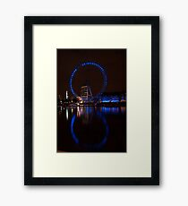 8 London Eye Framed Print