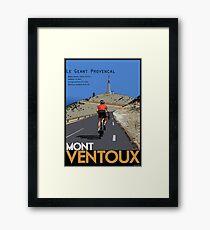 Ventoux Climb Framed Print