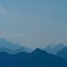 blue mountains by Erwin G. Kotzab