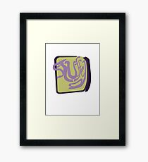 Stuffed Framed Print