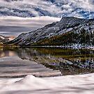 Snowy Tenaya Lake by Cat Connor