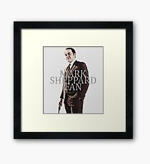 Mark Sheppard Fan Framed Print