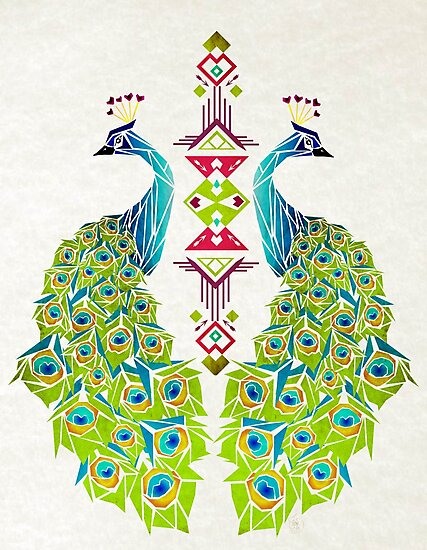 peacock by Manoou