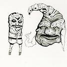 SpongeBob & Patrick -strange by delonte089