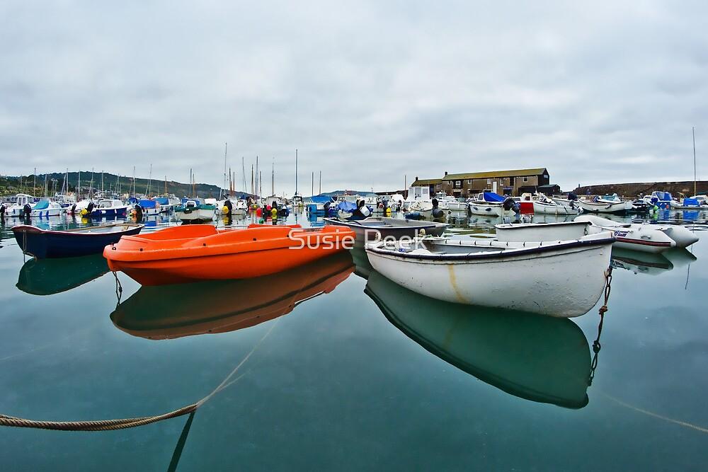 High Tide ~ Lyme Regis by Susie Peek