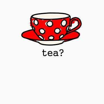 ¿Taza de té? de EdenIsRising