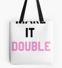 Double Trouble (2 of 2) Tote Bag