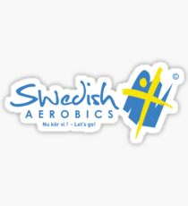 Swedish Aerobics (Hoodie) Sticker