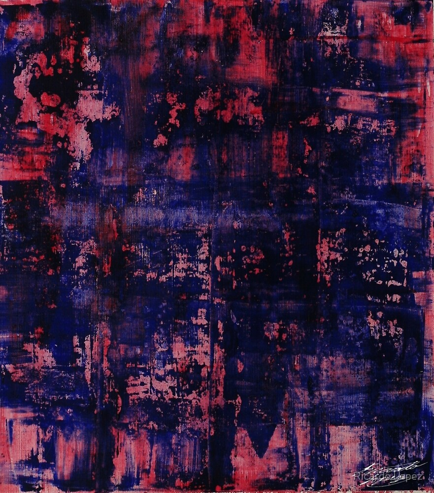 red blue study by Ricardo Lopez