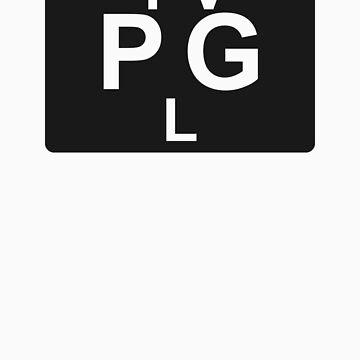 TV PG L (United States) black by bittercreek