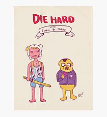 Die Hard with Finn and Jake Photographic Print
