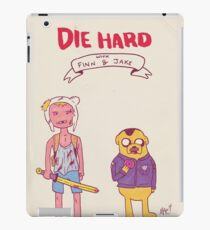 Die Hard with Finn and Jake iPad Case/Skin