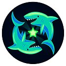 Starry Sharks by L James