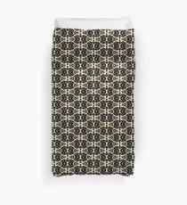 Sw castle midevel monochromatic pattern Duvet Cover