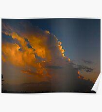 Cloud plummage Poster