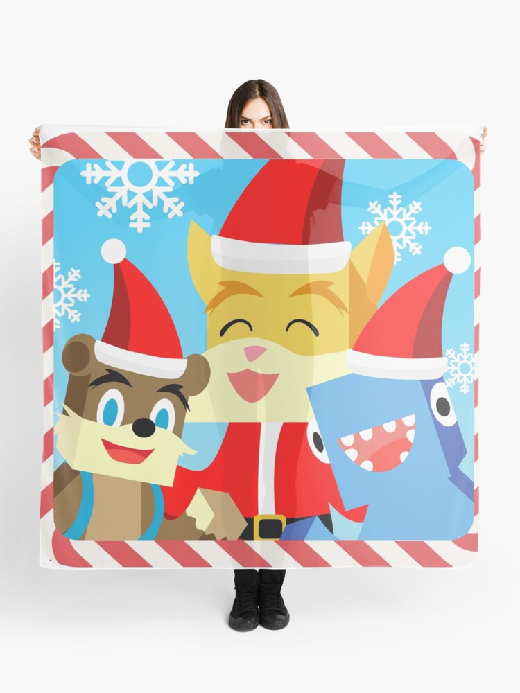 Stampylonghead Christmas.Minecraft Youtuber Stampy Cat Iballisticsquid L For Lee X Christmas Holiday Winter Limited Edition Scarf
