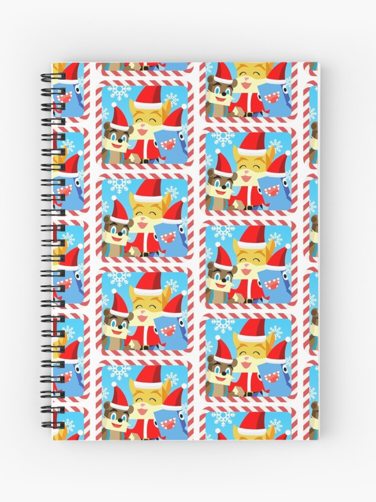 Stampylonghead Christmas.Minecraft Youtuber Stampy Cat Iballisticsquid L For Lee X Christmas Holiday Winter Limited Edition Spiral Notebook