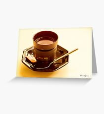 Photographer's Cuppa Greeting Card