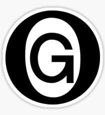 OG Black Sticker