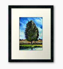 Tree - acryl Framed Print
