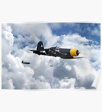 Vought Corsair - Mission Strike Poster