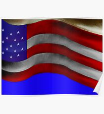 Flag on My Back Poster