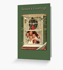 Season's Greetings- Rockwell Greeting Card