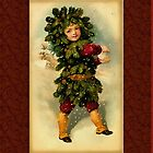 Holiday Boy Greeting Card by Yesteryears