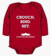 Crouch. Bind. Set. It's not rocket science. One Piece - Long Sleeve