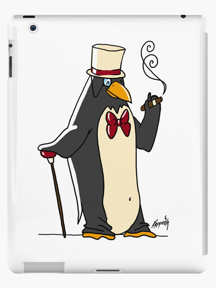 Classy Tuxedo Penguin by KeppensProduct