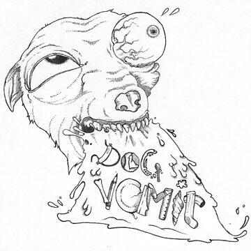 Vomit Dog by MackVanLobster