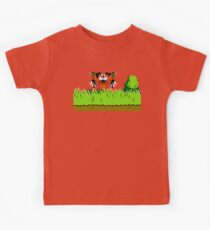 Duck Hunt Dog with 2 Ducks Kids Clothes