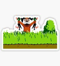Duck Hunt Dog with 2 Ducks Sticker