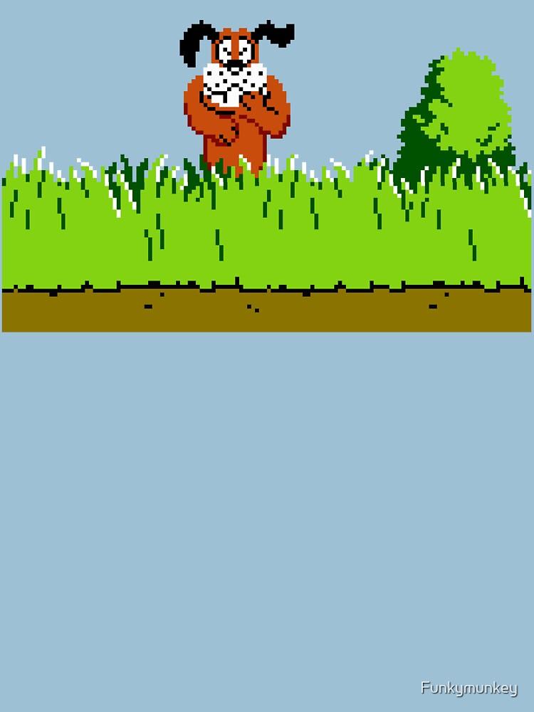Duck Hunt Dog se ríe de Funkymunkey