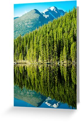 Mountain Lake Reflections by Photopa