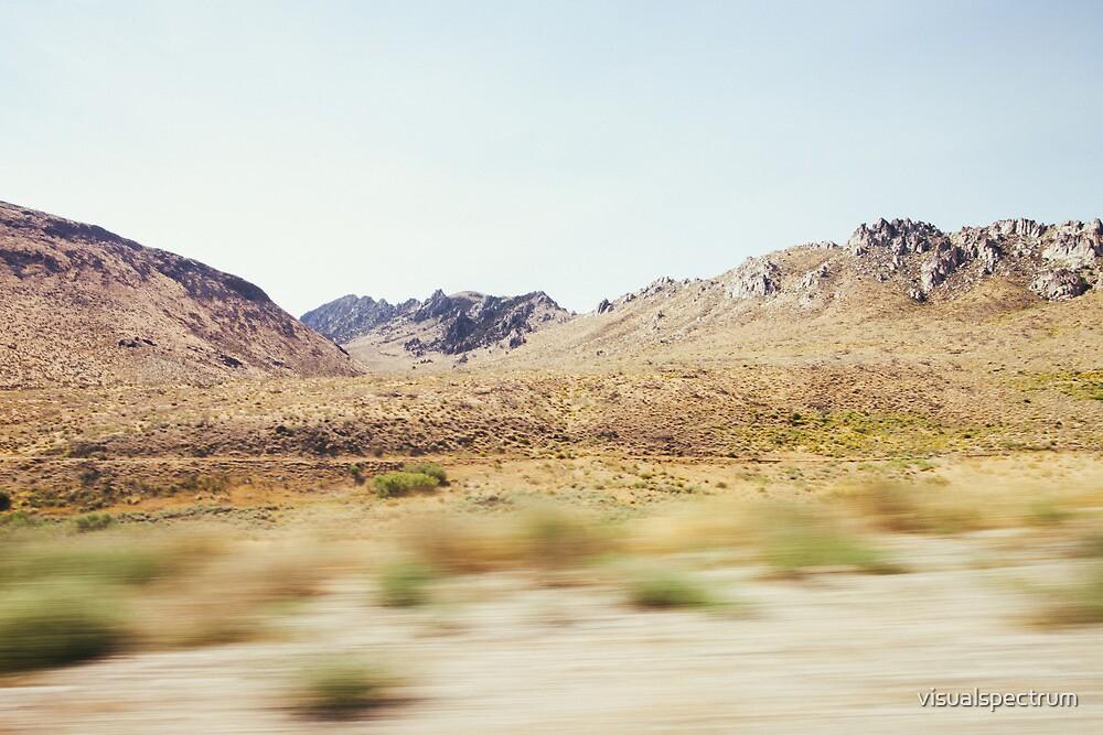 Dry Sierra Nevada Landscape by visualspectrum