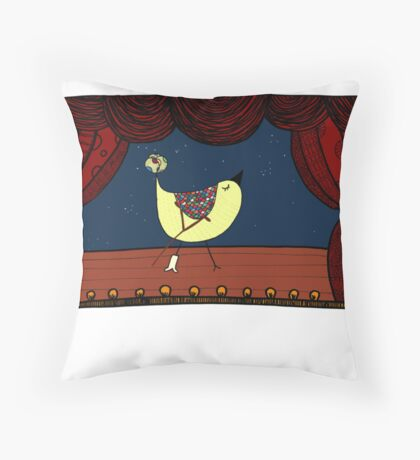 Break A Leg! Throw Pillow