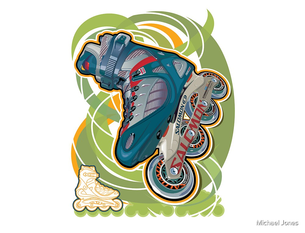 Inline skate by Michael Jones
