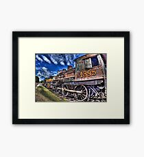 Coopersville & Marne Railway: Coopersville, Michigan Framed Print