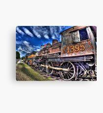 Coopersville & Marne Railway: Coopersville, Michigan Canvas Print