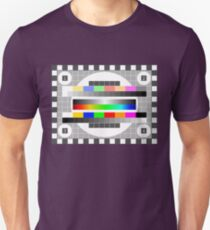 TV-Testmuster Unisex T-Shirt