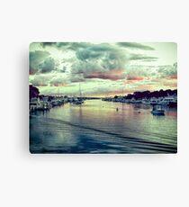Falmouth Harbor Cape Cod Canvas Print