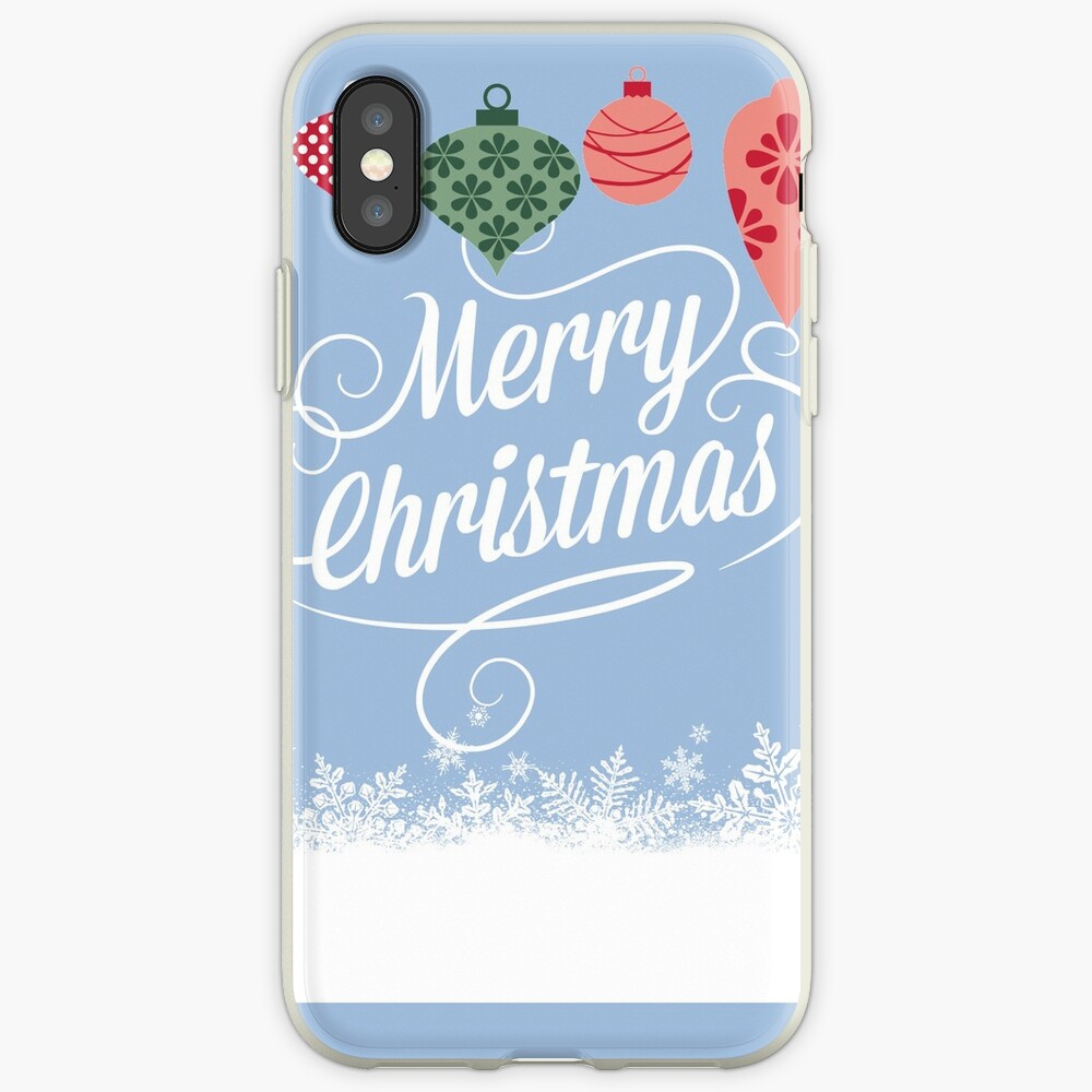 Merry Christmas  iPhone-Hülle & Cover