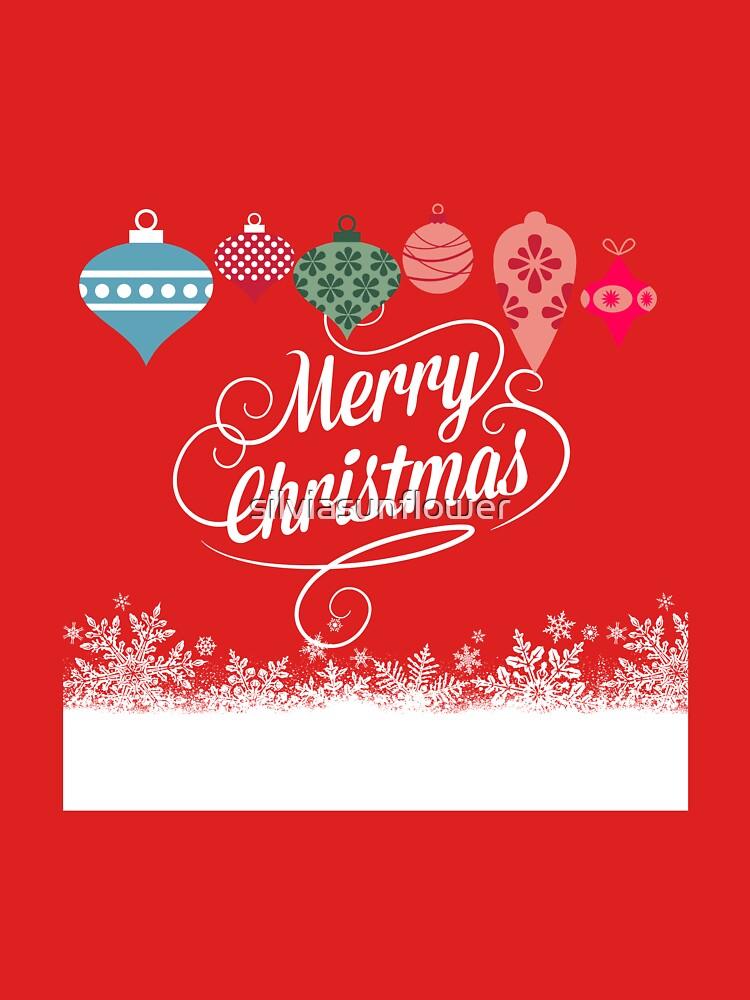 Merry Christmas  von silviasunflower