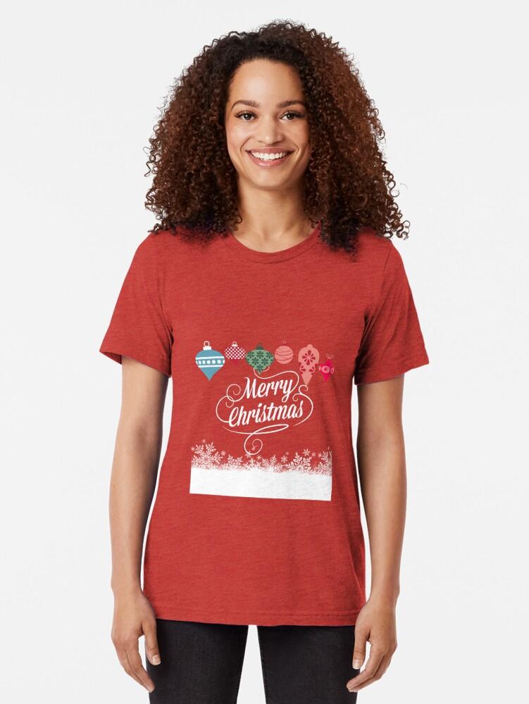Alternative Ansicht von Merry Christmas  Vintage T-Shirt
