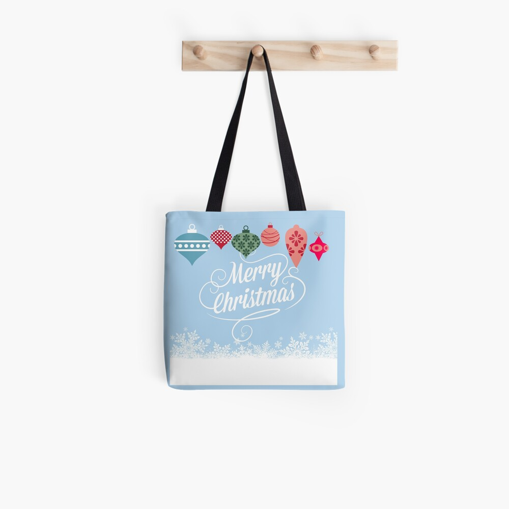 Merry Christmas  Stofftasche