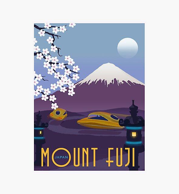 Race to Mount Fuji von stevethomasart